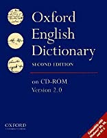 The Oxford English Dictionary On Cd Rom