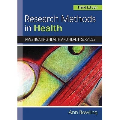 research methodology in health and social care This book covers the key areas of research methodology, the literature search, ethics, validity, reliability and referencing, and provides detailed guidance on planning, conducting and presenting your project.