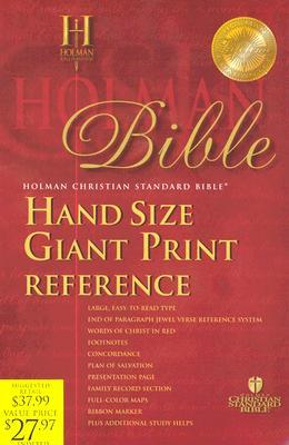 HCSB Hand Size Giant Print Reference