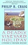 A Deadly Vineyard Holiday (Martha's Vineyard Mystery #8)