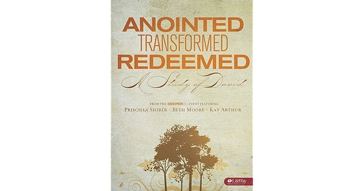 Verbal Vomit: Anointed, Transformed, Redeemed: Loving ...