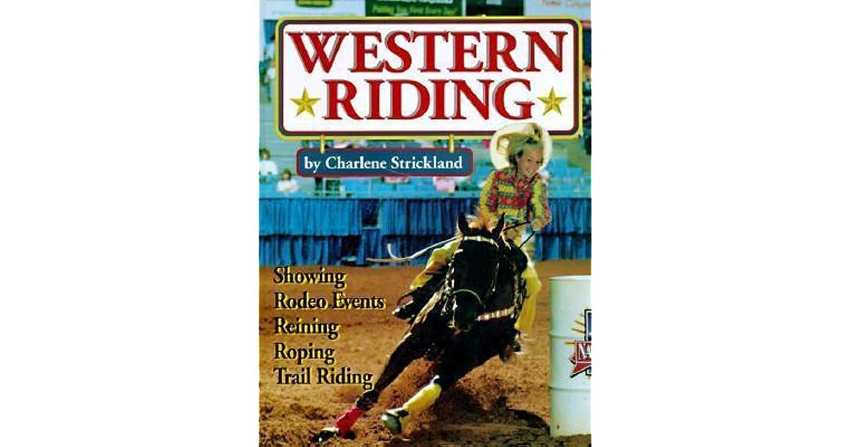 Western Riding By Charlene Strickland