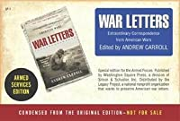 War Letters Armed Forces Edition