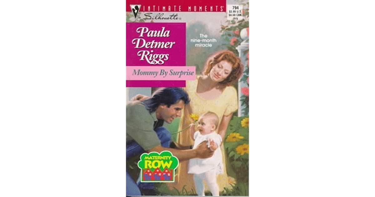 mommy by surprise riggs paula detmer
