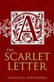 The Scarlet Letter Book Cover.The Scarlet Letter By Nathaniel Hawthorne