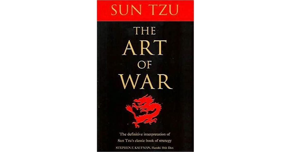 sun tzu art of war mcdonald Quotations by sun tzu, chinese philosopher share with your friends the art of war teaches us to rely not on the likelihood of the enemy's not coming.