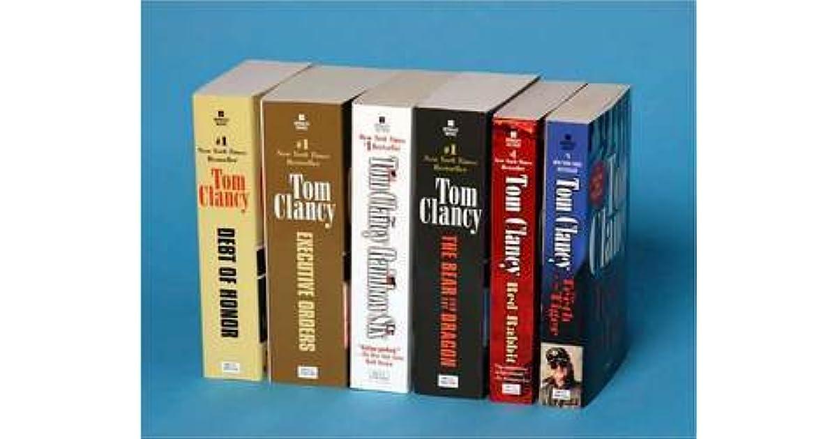 Tom Clancy S Jack Ryan Books 7 12 By Tom Clancy