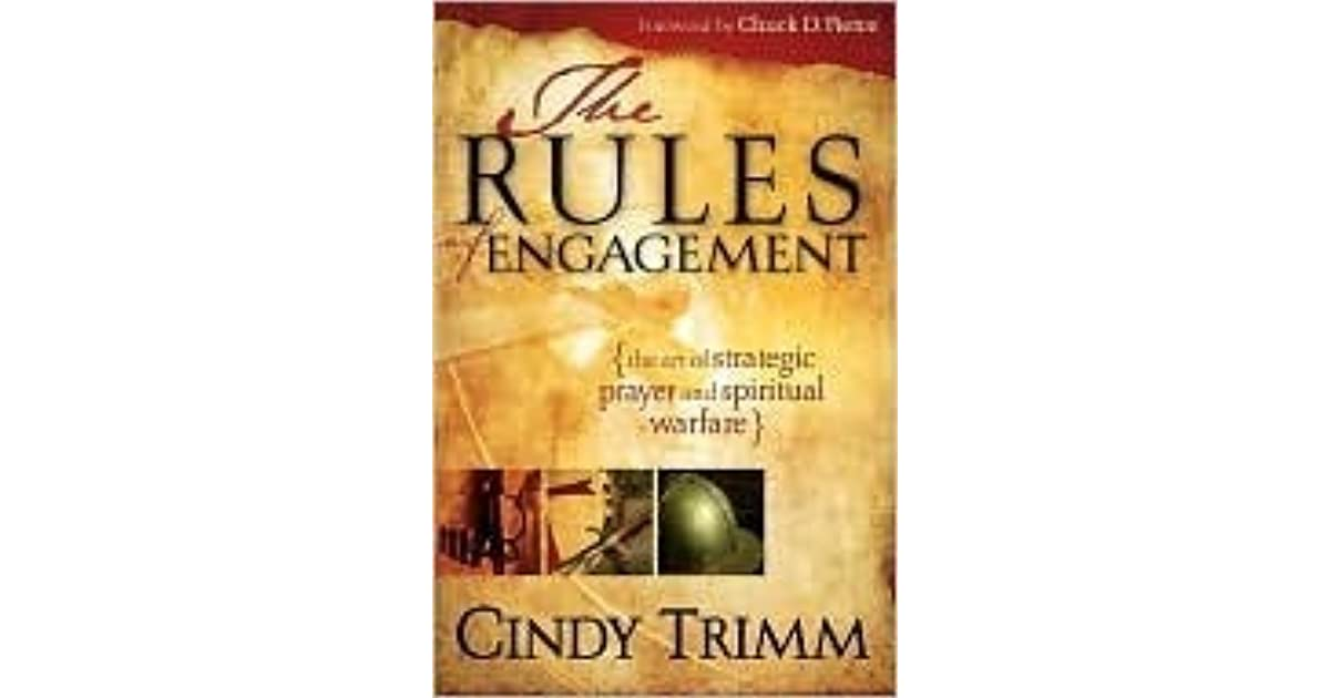 The Rules Of Engagement 3 In 1 By Cindy Trimm