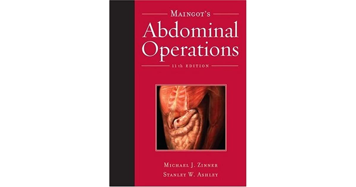 Maingots Abdominal Operations 12th Edition Pdf