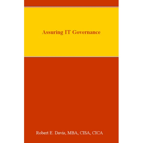 Assuring It Governance By Robert E Davis