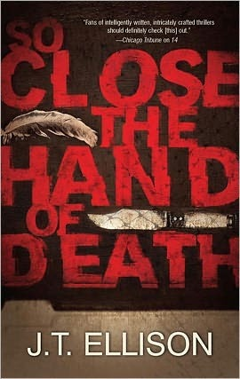 So Close the Hand of Death (Taylor Jackson, #6)