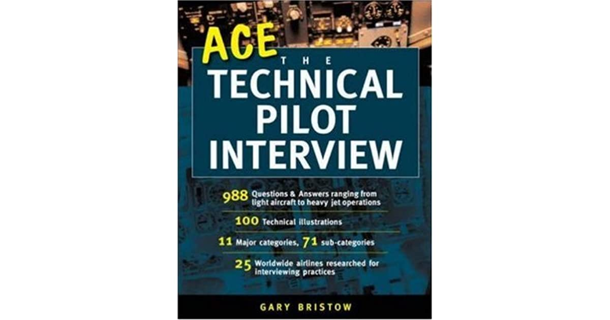 Ace the technical pilot interview by gary v bristow fandeluxe Image collections