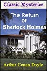 Book cover for The Return of Sherlock Holmes