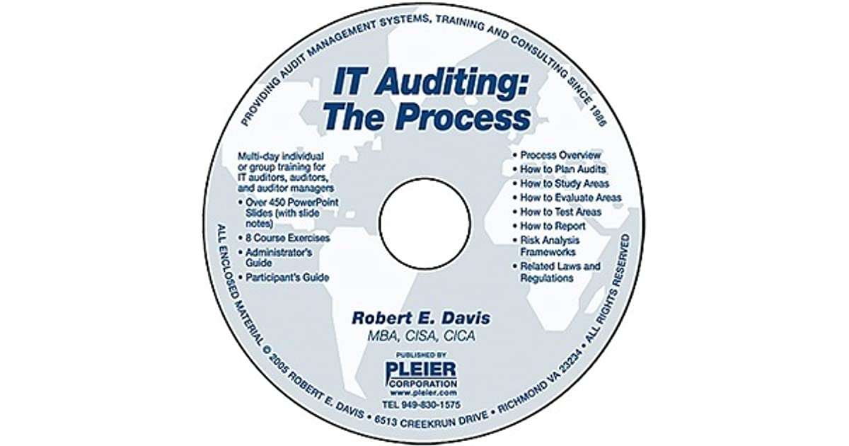 It Auditing The Process By Robert E Davis