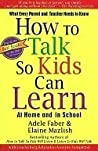 Book cover for How To Talk So Kids Can Learn