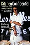 Book cover for Kitchen Confidential: Adventures in the Culinary Underbelly (updated edition)
