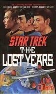 The Lost Years by J.M. Dillard