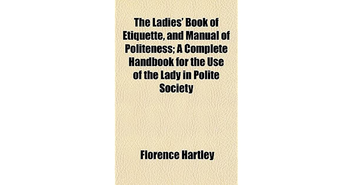 The Diners Out Handbook: A Pocket Handbook on the Manners and Customs of Society Functions