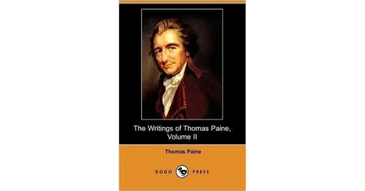 thomas paine and chalmers The loyalists thomas hutchinson, a james chalmers and plain truth along with earning thomas paine the respect of his fellow patriots.