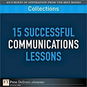 15 Successful Communications Lessons