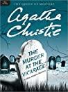 Book cover for The Murder at the Vicarage