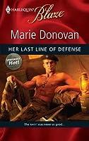 Her Last Line of Defense (Harlequin Blaze, #493) (Uniformly Hot!, #9)