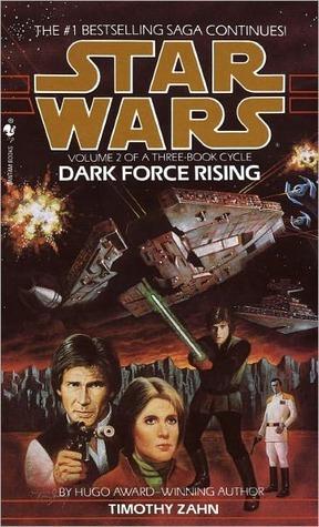 Dark Force Rising (Star Wars: The Thrawn Trilogy, #2)