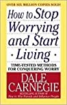 Book cover for How to Stop Worrying and Start Living