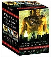 The Mortal Instruments Boxed Set: City of Bones; City of Ashes; City of Glass (Mortal Instruments, #1-3)
