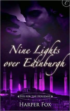 Book cover of, Nine Lights Over Edinburgh, by Harper Fox