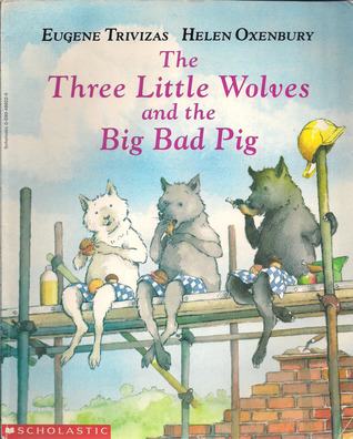 Image result for The Three Little Wolves and the Big Bad Pig