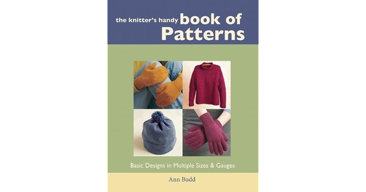 438d60d1d Knitter s Handy Book of Patterns by Ann Budd