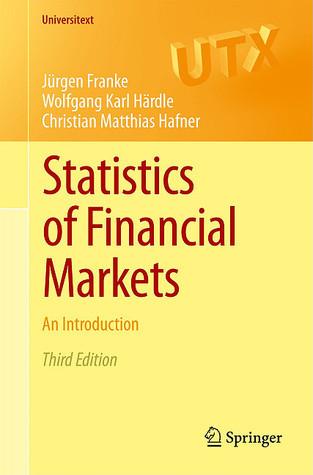 Statistics of Financial Markets (2013)
