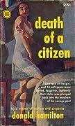 Death of a Citizen (Matt Helm, #1)