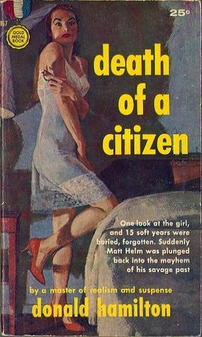 Death of a Citizen (Matt Helm #1 - Donald Hamilton