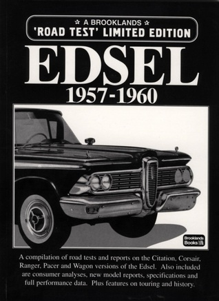 Edsel 1957-1960 Road Test Limited Edition