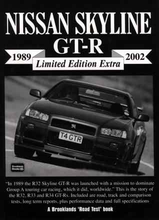 Nissan Skyline GT-R 1989-2002 -Limited Edition Extra