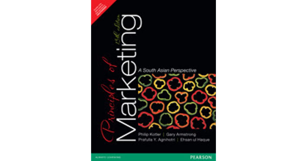Principles of marketing a south asian perspective by philip kotler fandeluxe Choice Image