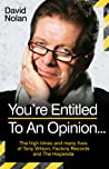 Tony Wilson - You're Entitled to an Opinion but your Opinion is ****