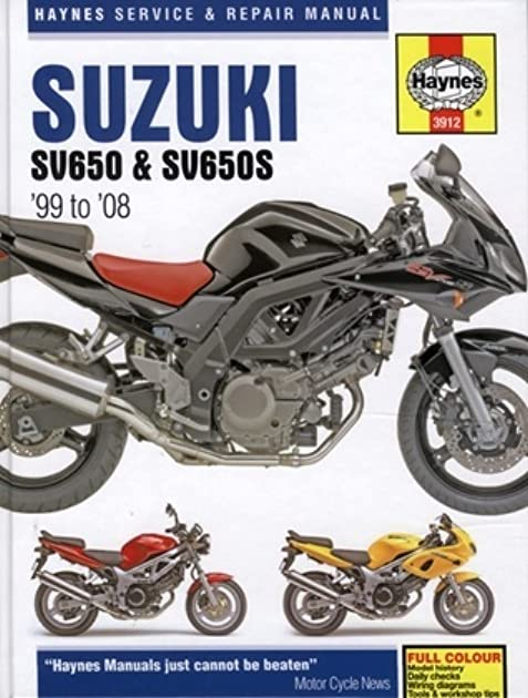 suzuki sv650 and sv650s service and repair manual 1999 to 2008 by rh goodreads com 1999 SV650 2006 SV650