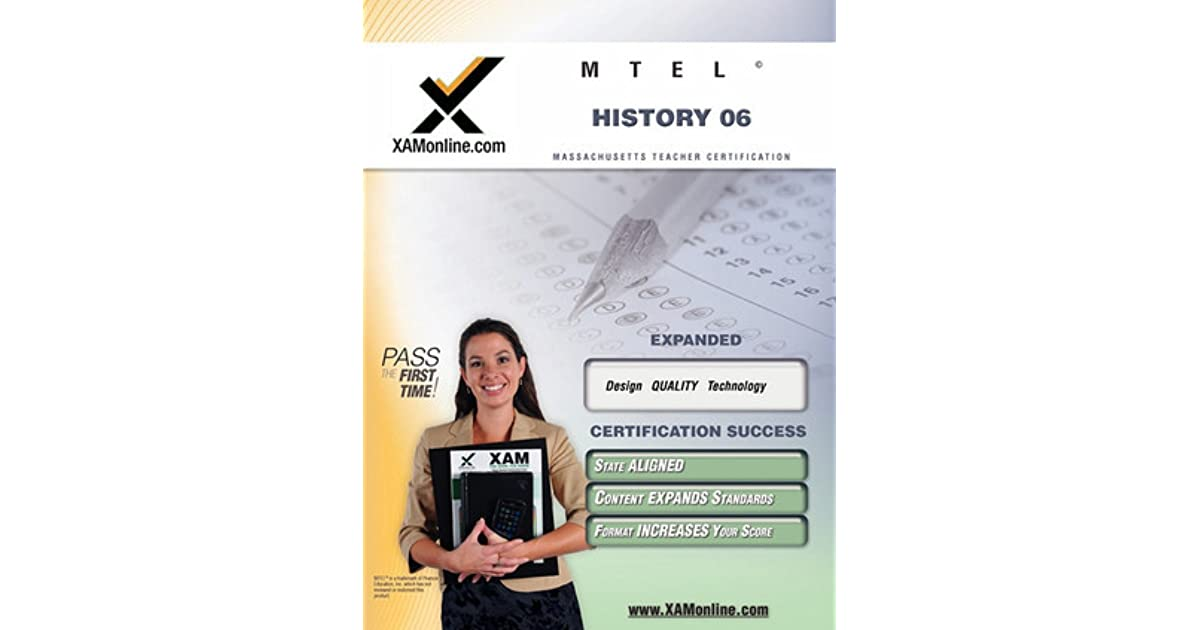 Mtel History 06 Social Science Teacher Certification Test Prep