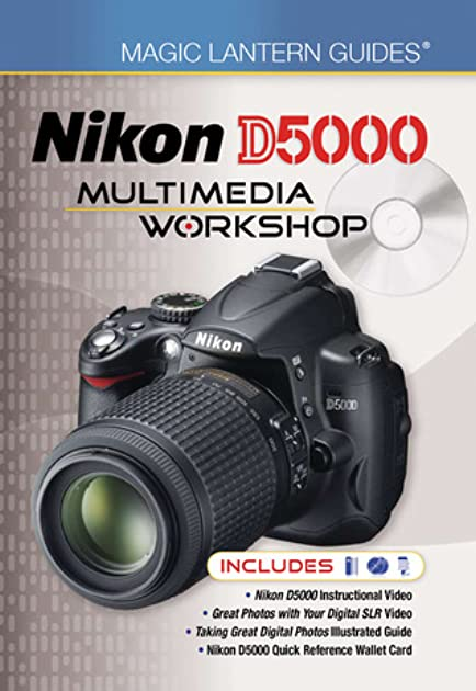 magic lantern dvd guides nikon d5000 multimedia workshop by lark books rh goodreads com