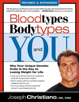 Bloodtypes, Bodytypes & You: Why your unique genetic code is the key to losing weight for life