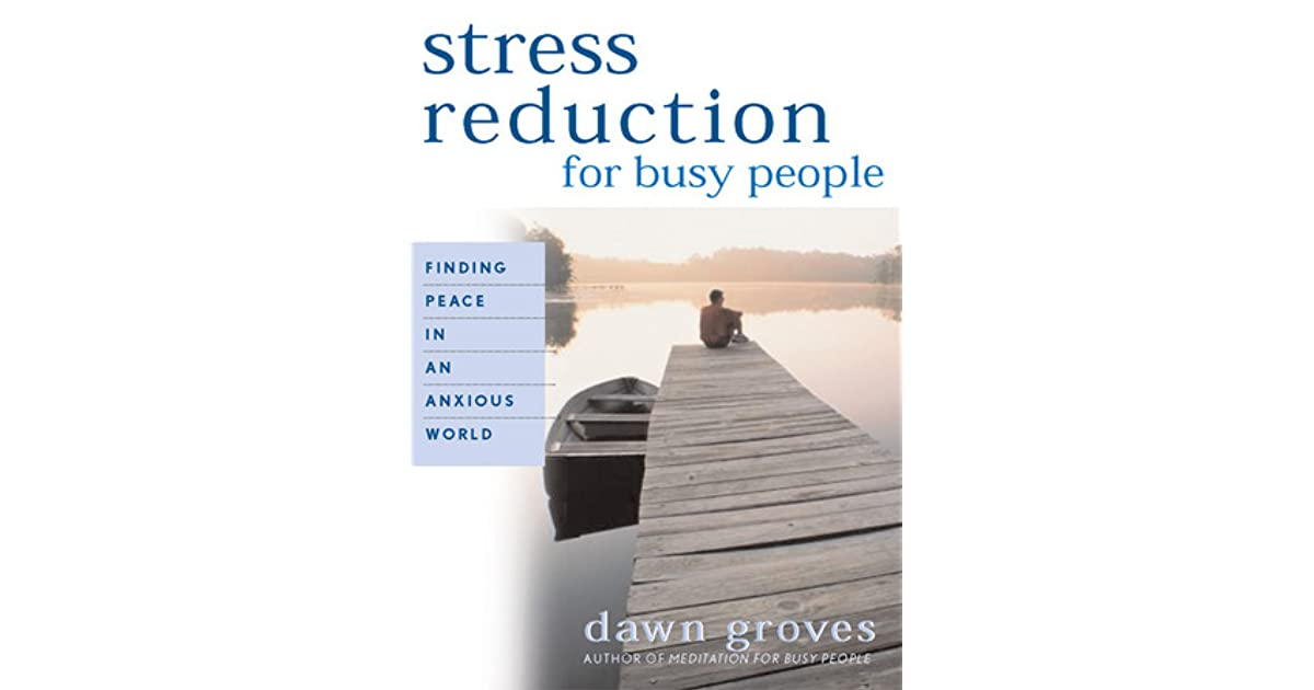 stress reduction Physical activity reduces stress stress is an inevitable part of life seven out of ten adults in the united states say they experience stress or anxiety daily.
