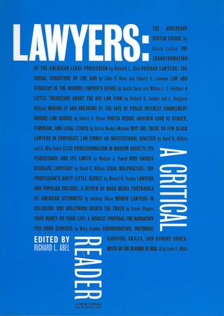 Lawyers: A Critical Reader
