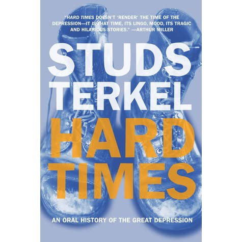a review of my american century a book by studs terkel Buy my american century by studs terkel (isbn: 9781565843653) from amazon's book store everyday low prices and free delivery on eligible orders.
