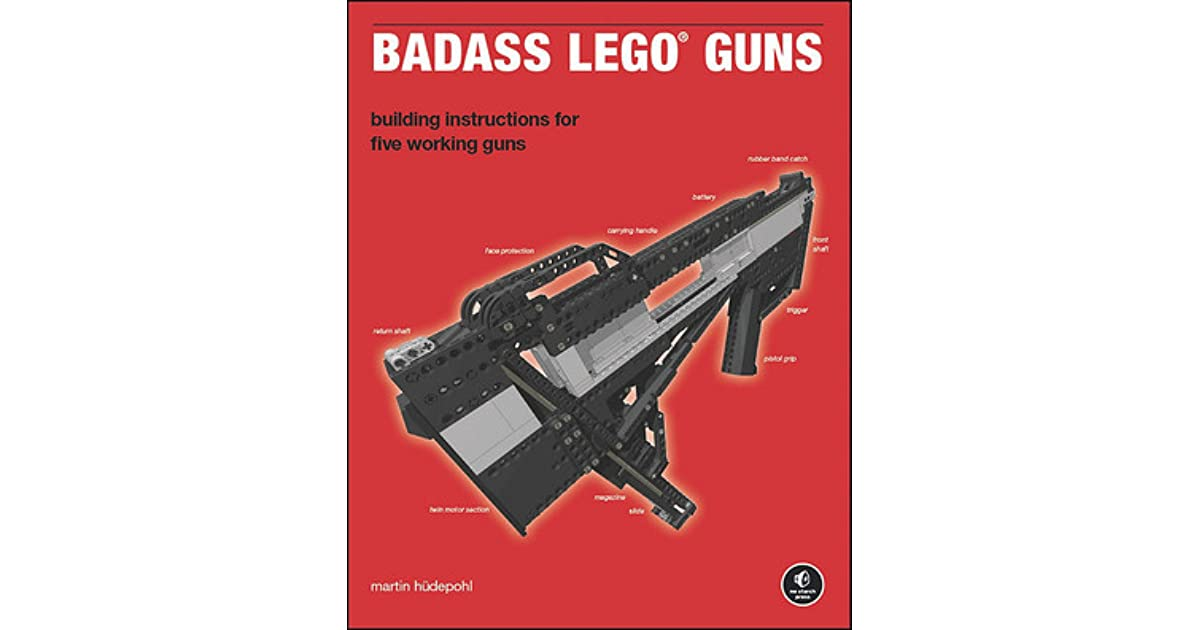 Badass Lego Guns By Martin Hdepohl