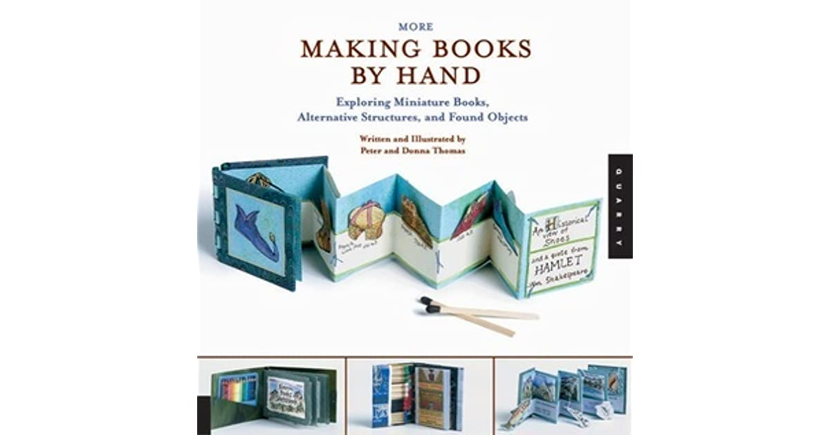 How To Make A Book By Hand : More making books by hand exploring miniature