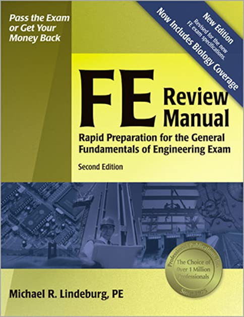 fe review manual rapid preparation for the general fundamentals of rh goodreads com Lindeburg Fe Exam Review Pe Review Manual