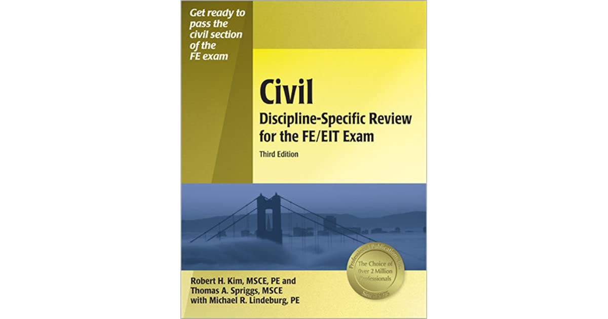 Civil Discipline-Specific Review for the FE/EIT Exam by